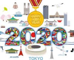 2020オリンピックと年賀状